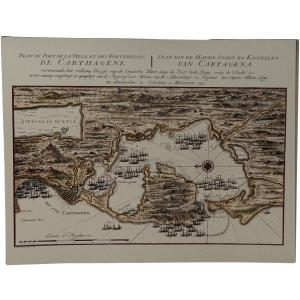 Cartagena kaart