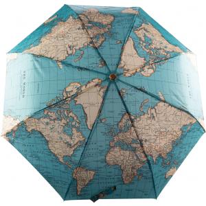 Paraplu RETRO vintage world map