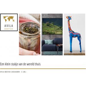 Avila Boetiek cadeaubon 100 euro