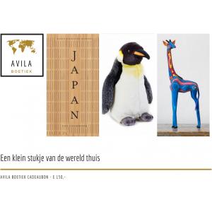 Avila Boetiek cadeaubon 150 euro