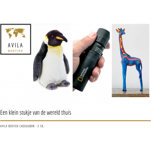 Avila Boetiek cadeaubon 50 euro